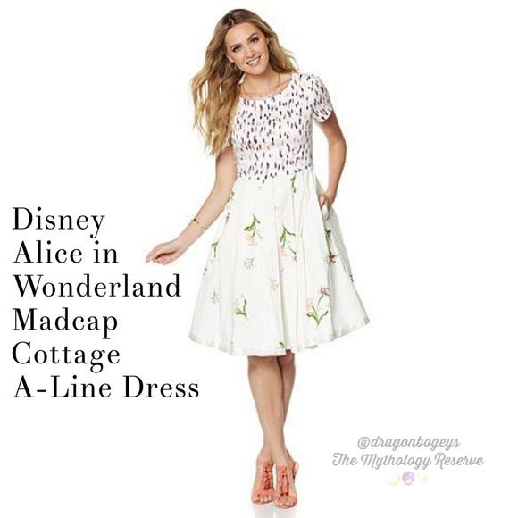 69598606ad2 Disney Dresses   Skirts - Disney Alice in Wonderland Madcap Cottage Dress